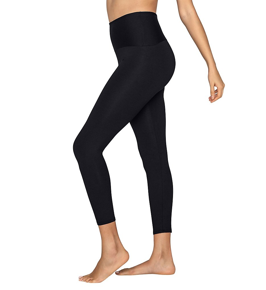 Leonisa 012910 ActiveLife Firm Compression Butt Lift Legging (Black)