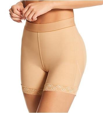 Leonisa Mid-Rise Sculpting Butt Lifter Shaper Short