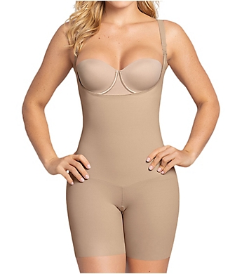 Leonisa Undetectable Edge Shorty Shaper with Butt Lifter