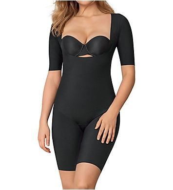 Leonisa Undetectable Open Bust Shorty Shaper Jumpsuit