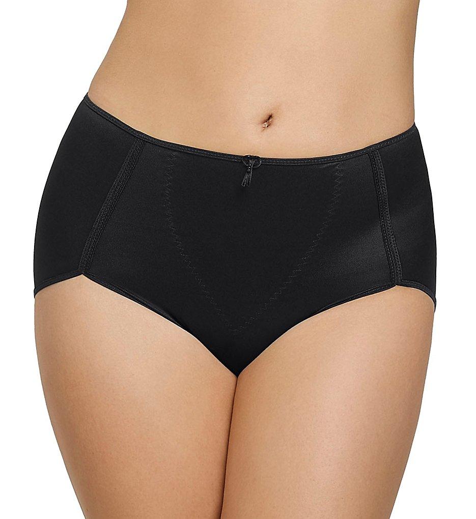 Leonisa - Leonisa 0243 High Cut Firm Control Panty (Black S)