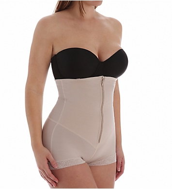Leonisa Strapless Power Tummy Trimmer Compression Shaper