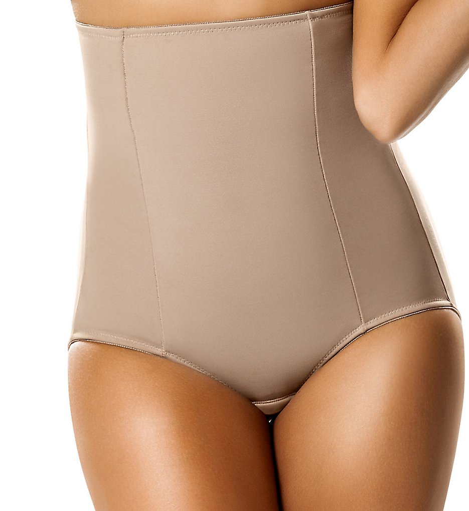 Leonisa : Leonisa 22239 High-Waisted Girdle with Butt Lifter Benefit (Nude S)