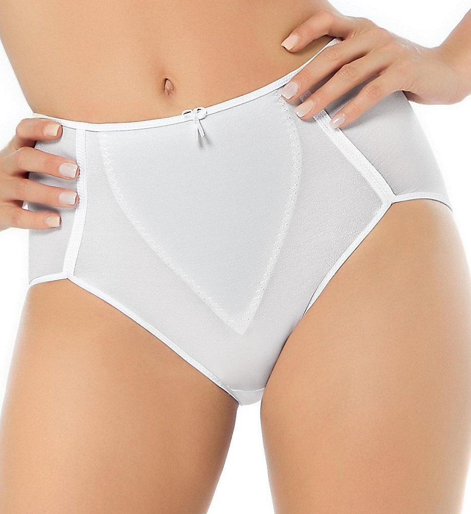 Leonisa - Leonisa 243 High Cut Moderate Control Panty (White S)