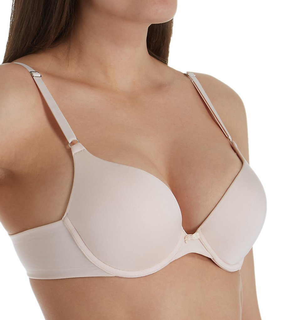 Lily Of France 131101T Ego Boost Tailored Push Up Bra (Solid Champagne)