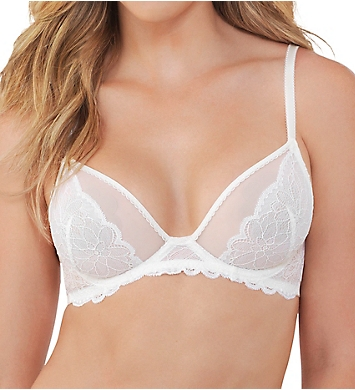 Lily Of France Sensational Lace Triangle Unlined Underwire Bra