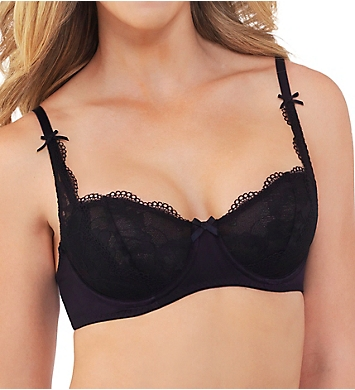 Lily Of France Sensational Lace Modern Unlined Underwire Bra