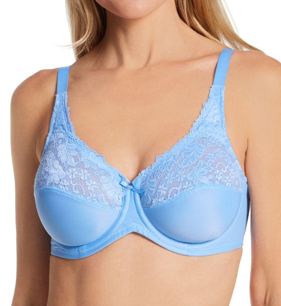 Lilyette Comfort Lace Minimizer Bra