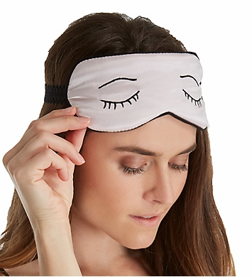 Linda Hartman Eyelash Embroidery Silk Sleepmask