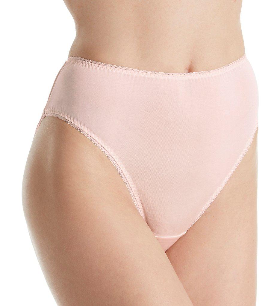 Linda Hartman 774014 Silk Knit High Cut Brief Panty