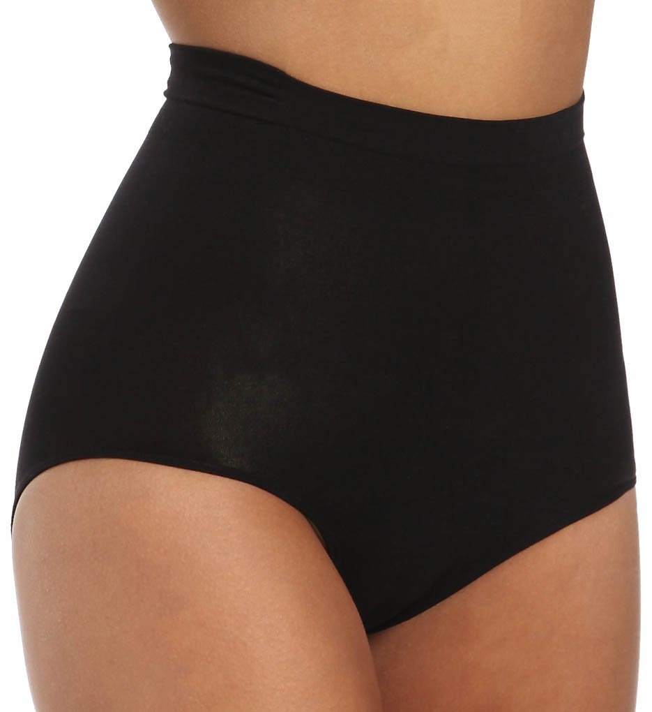 Lipo in a Box : Lipo in a Box 1655101 Core Firm Control Mid-Rise Panty (Black S)