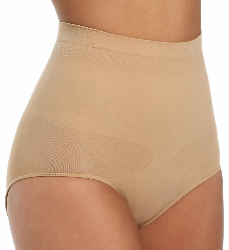 Lipo in a Box >> Lipo in a Box 1655101 Core Firm Control Mid-Rise Panty (Nude M)