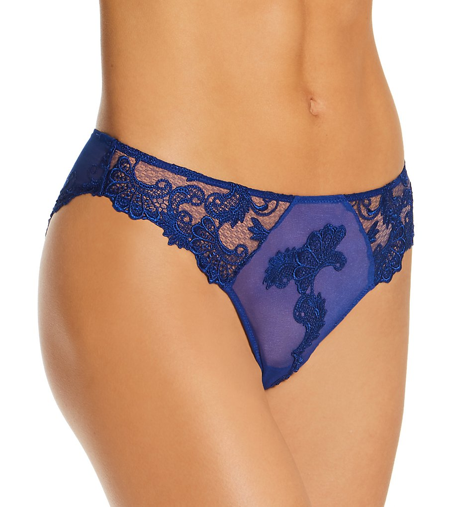 Lise Charmel - Lise Charmel ACC0788 Dressing Floral Italian Brief Panty (Dressing Bleu XL)