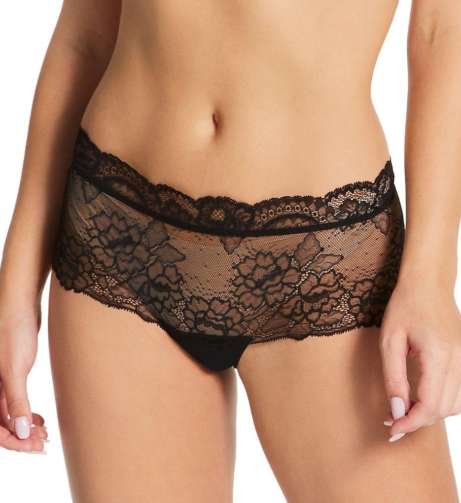 Lise Charmel - Lise Charmel ACH0413 Sublime En Dentelle Boyshort Panty (Black XS)