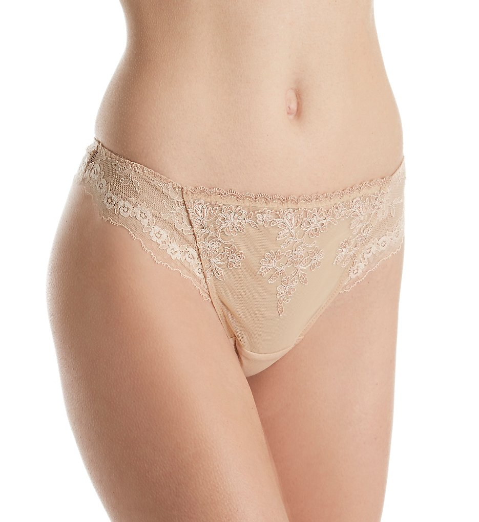 Lise Charmel - Lise Charmel CCC0037 Antinea Cherie Thong Panty (Nude XL)