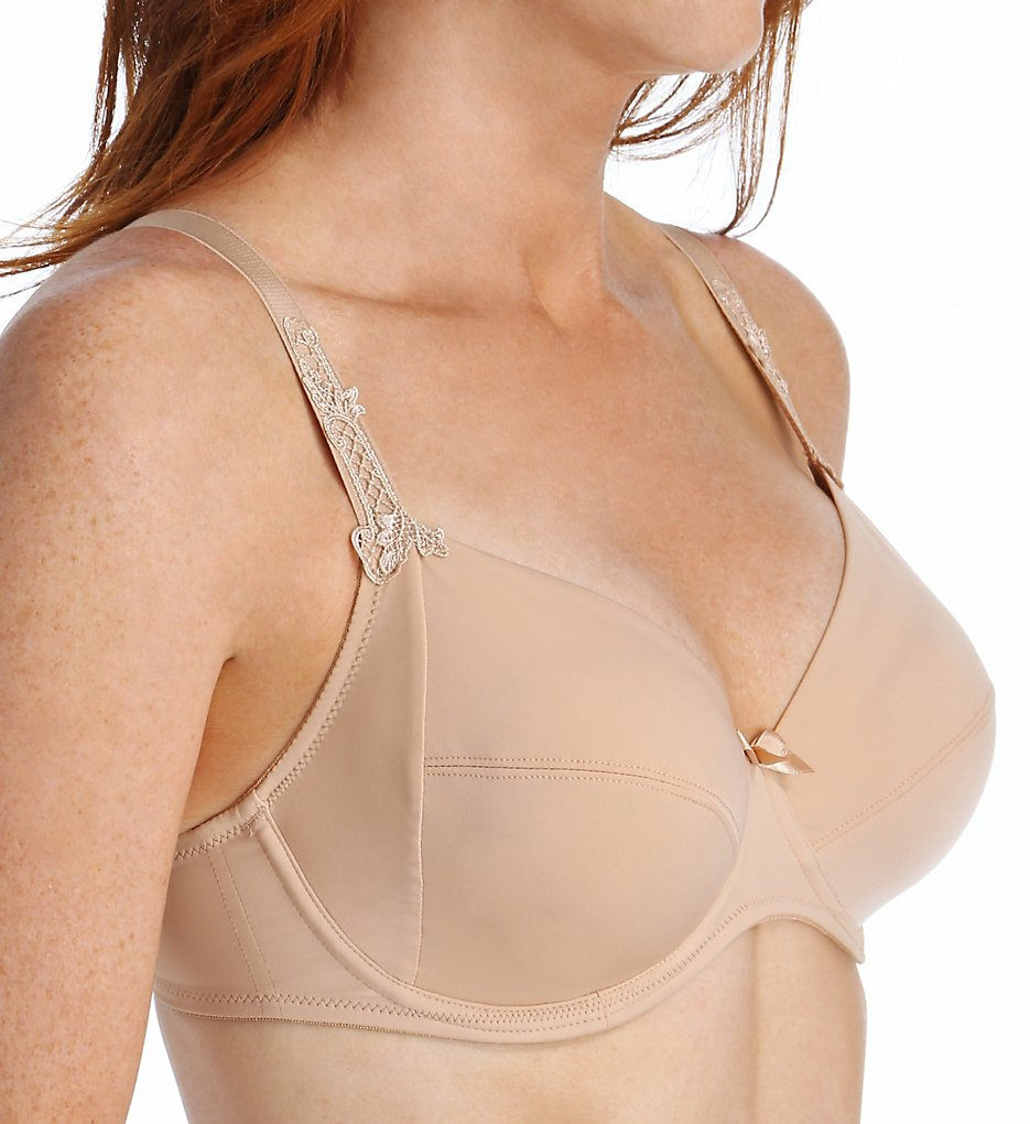 Lise Charmel - Lise Charmel DCC6189 Antinea Essential Fit 3 Part Full Cup Bra (Nude 32D)