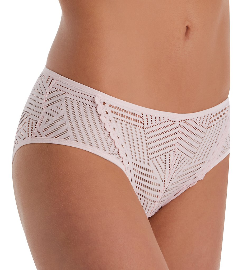Lise Charmel - Lise Charmel ECC0237 Tressage Graphic Fancy Brief Panty (Pink Stellaire XL)