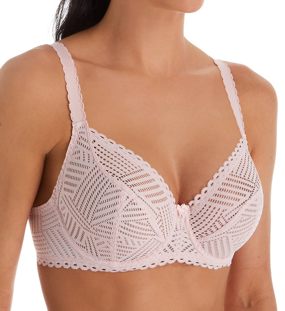 Lise Charmel - Lise Charmel FCC2837 Tressage Graphic 3/4 Cup Bra (Pink Stellaire 34C)