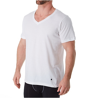 Lucky Cotton Jersey V-Neck T-Shirt - 3 Pack