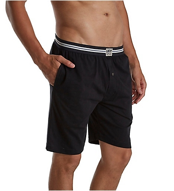 Lucky Sueded Knit Fly Front Lounge Short
