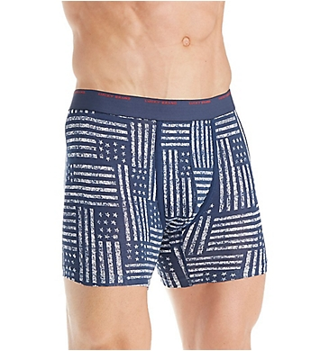 Lucky Fashion Print Stretch Boxer Brief