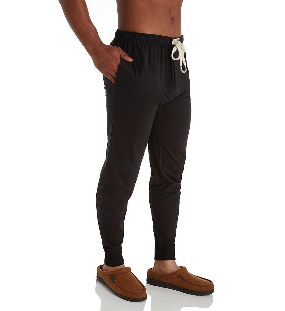 lucky 173lp03 fashion knit jogger (jet black xl)