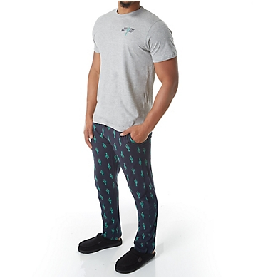 Lucky Cotton Jersey Tee & Lounge Pant Set