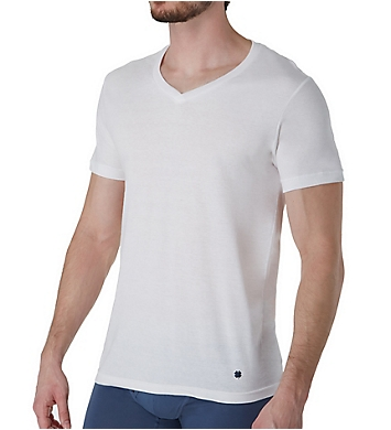 Lucky Cotton Jersey V-Neck T-Shirts - 3 Pack