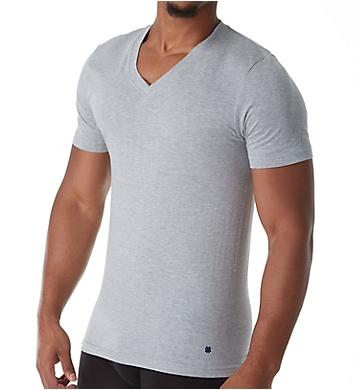Lucky Cotton Jersey Slim Fit V-Neck T-Shirts - 3 Pack