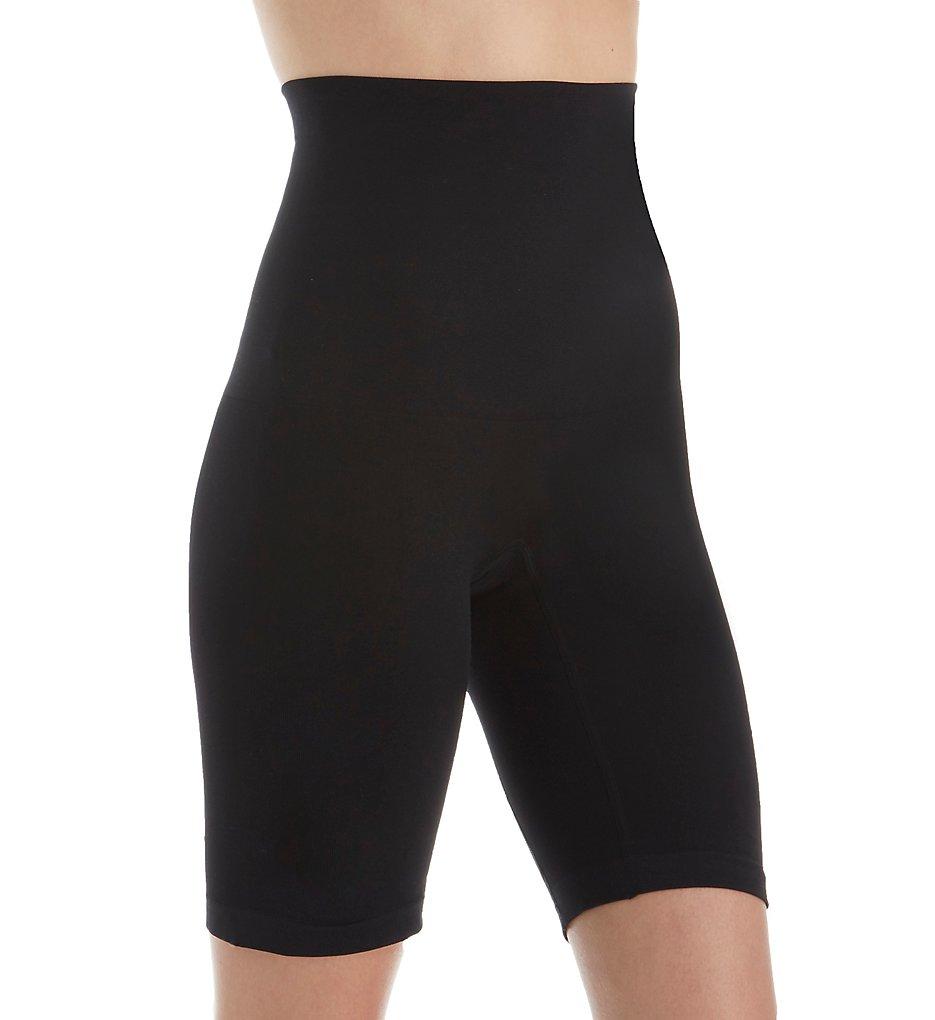 Lunaire - Lunaire 3254 Instant Shaping Hi Waist Thigh Shaper (Black M)