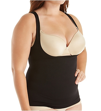 Lunaire Plus Size Seamless Wear Your Own Bra Camisole