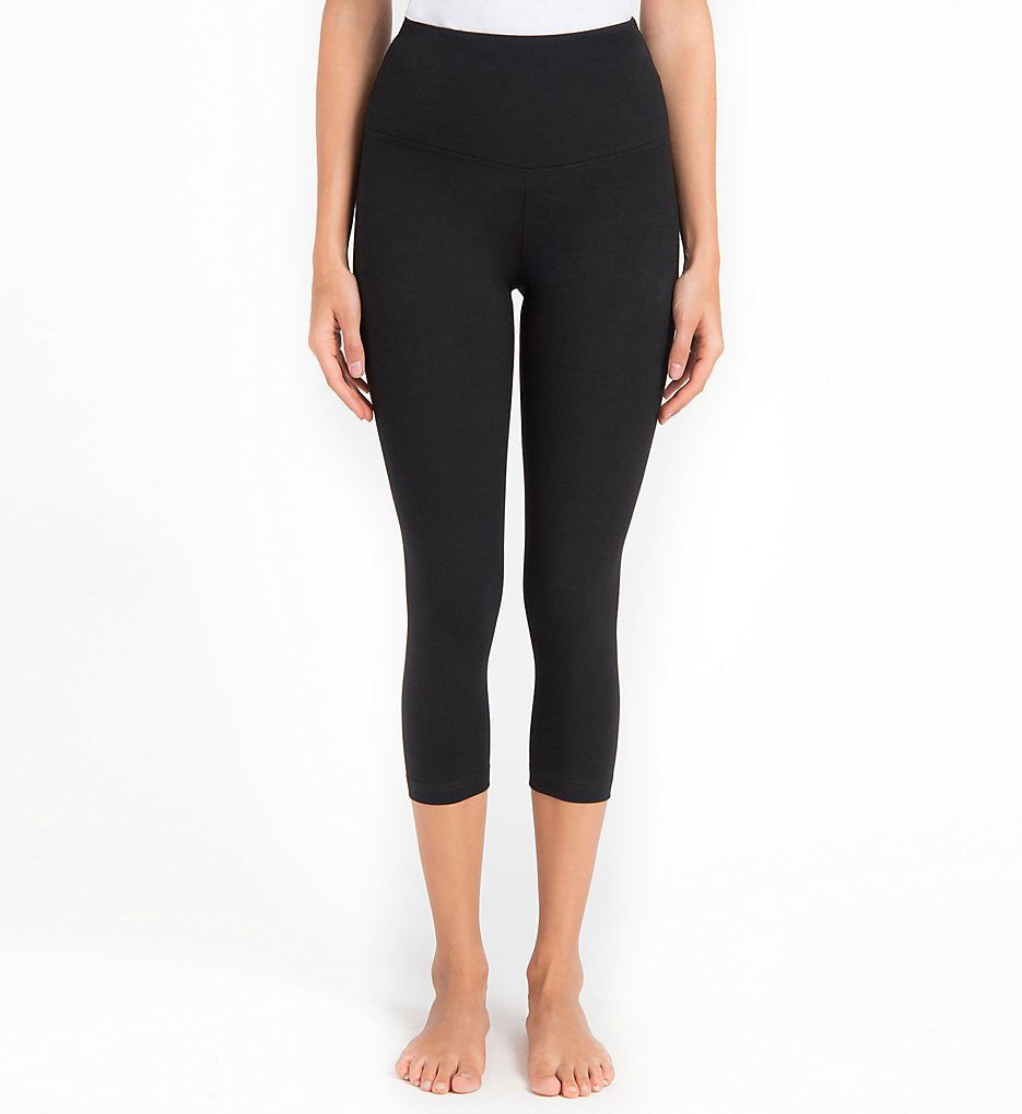 Lysse Leggings 1215 Shaping Capri Legging (Black)
