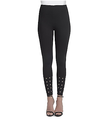 Lysse Leggings Lightweight Ponte Grommet Ankle Legging