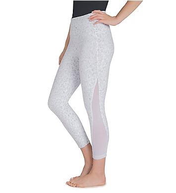 Lysse Leggings Skylar Cotton Crop with Mesh Detail