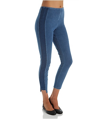 Lysse Leggings Step Hem Ankle Denim Legging