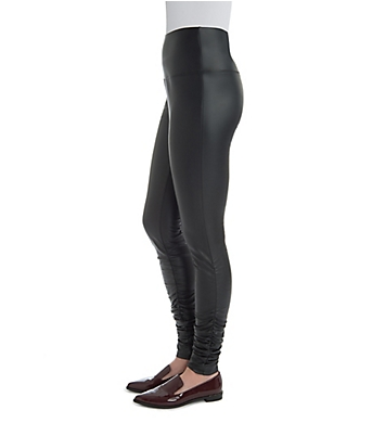 Lysse Leggings Karly Ruched Leg Vegan Leather Legging