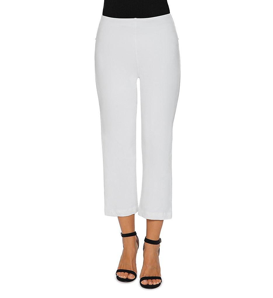 Lysse Leggings 2139 Straight Leg Crop Denim Legging (White)