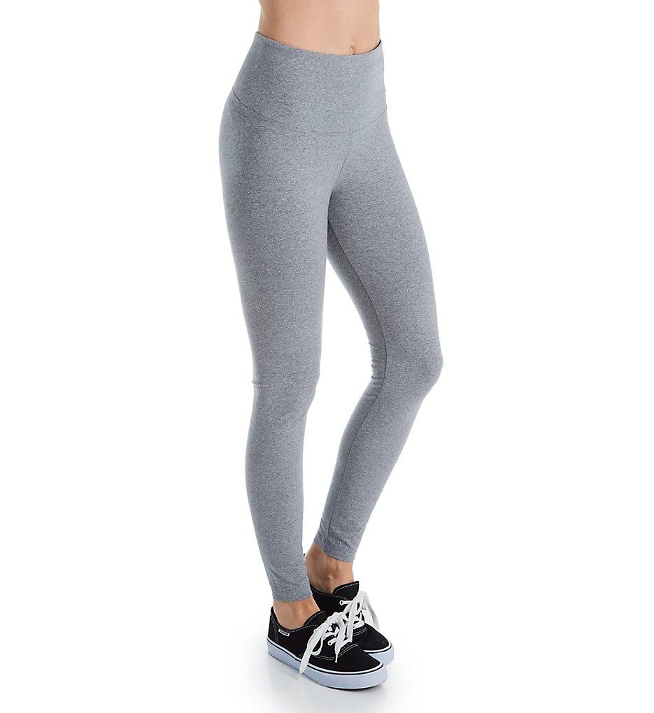 Lysse Leggings 2280 Flattering Cotton Legging (Grey Melange)