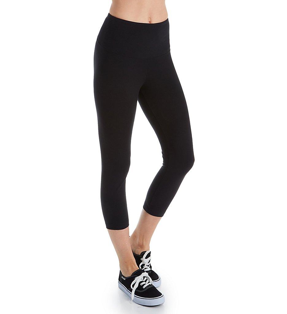 Lysse Leggings 2281 Flattering Cotton Crop Legging (Black)