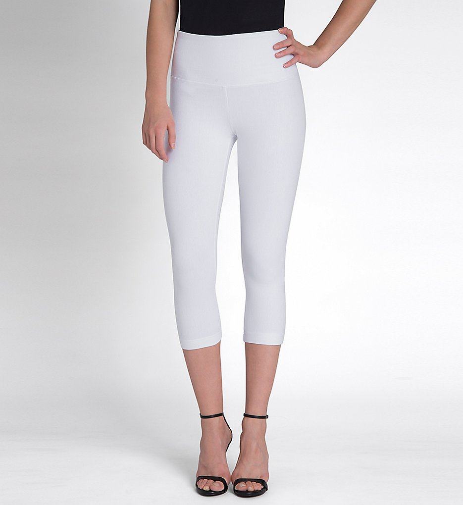 Lysse Leggings 6173C Perfect Denim Shaping Capri (White)