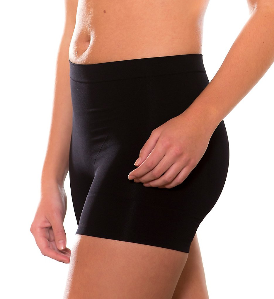 Magic Bodyfashion >> Magic Bodyfashion 40CS Seamless & Comfy Shaping Short (Black S)