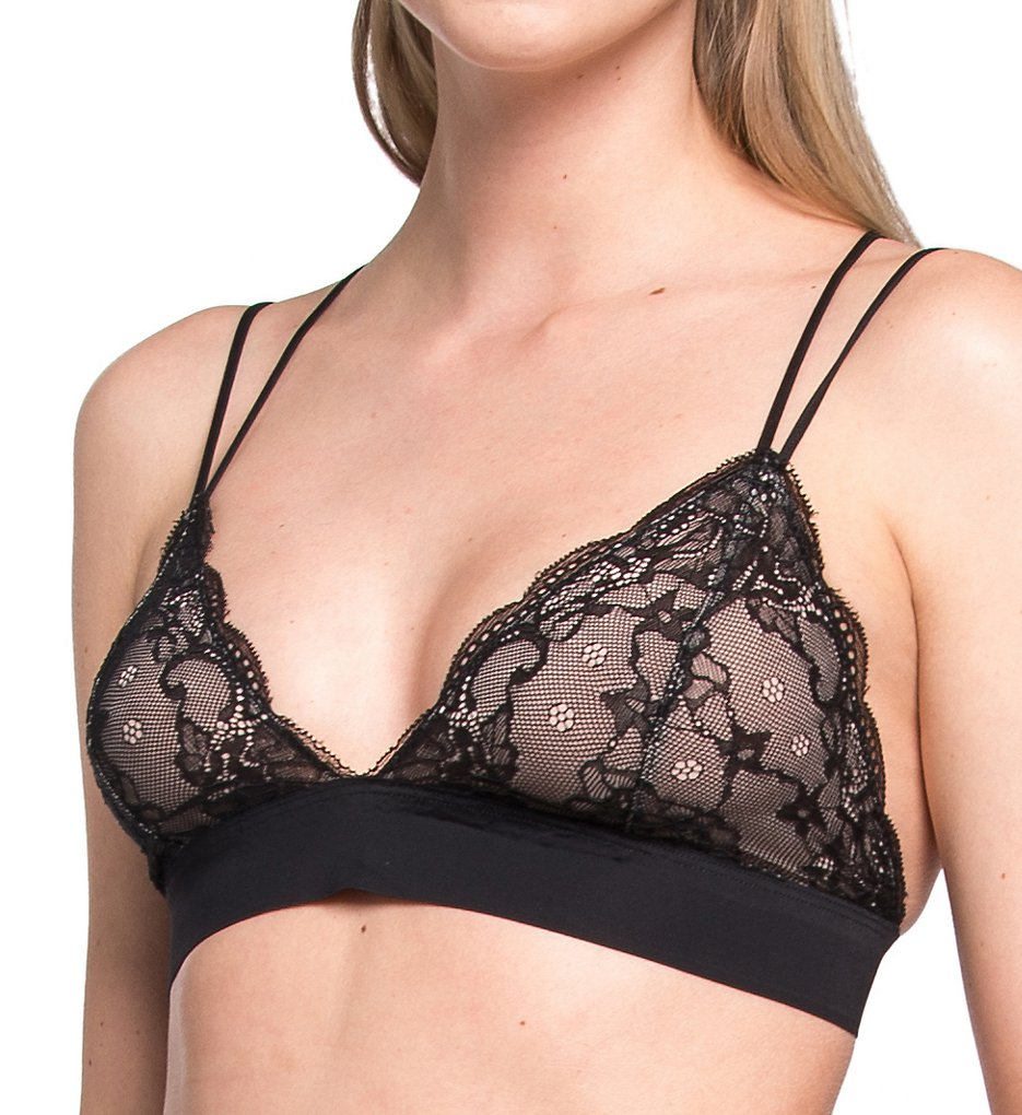 Magic Bodyfashion - Magic Bodyfashion 46BL Dream Lace Bralette (Black S)