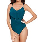Solid Isabel Underwire One Piece Swimsuit
