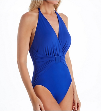 MagicSuit Solid Angelina Wire Free One Piece Swimsuit