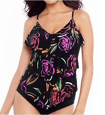 MagicSuit Neon Nature Rita Tankini Swim Top