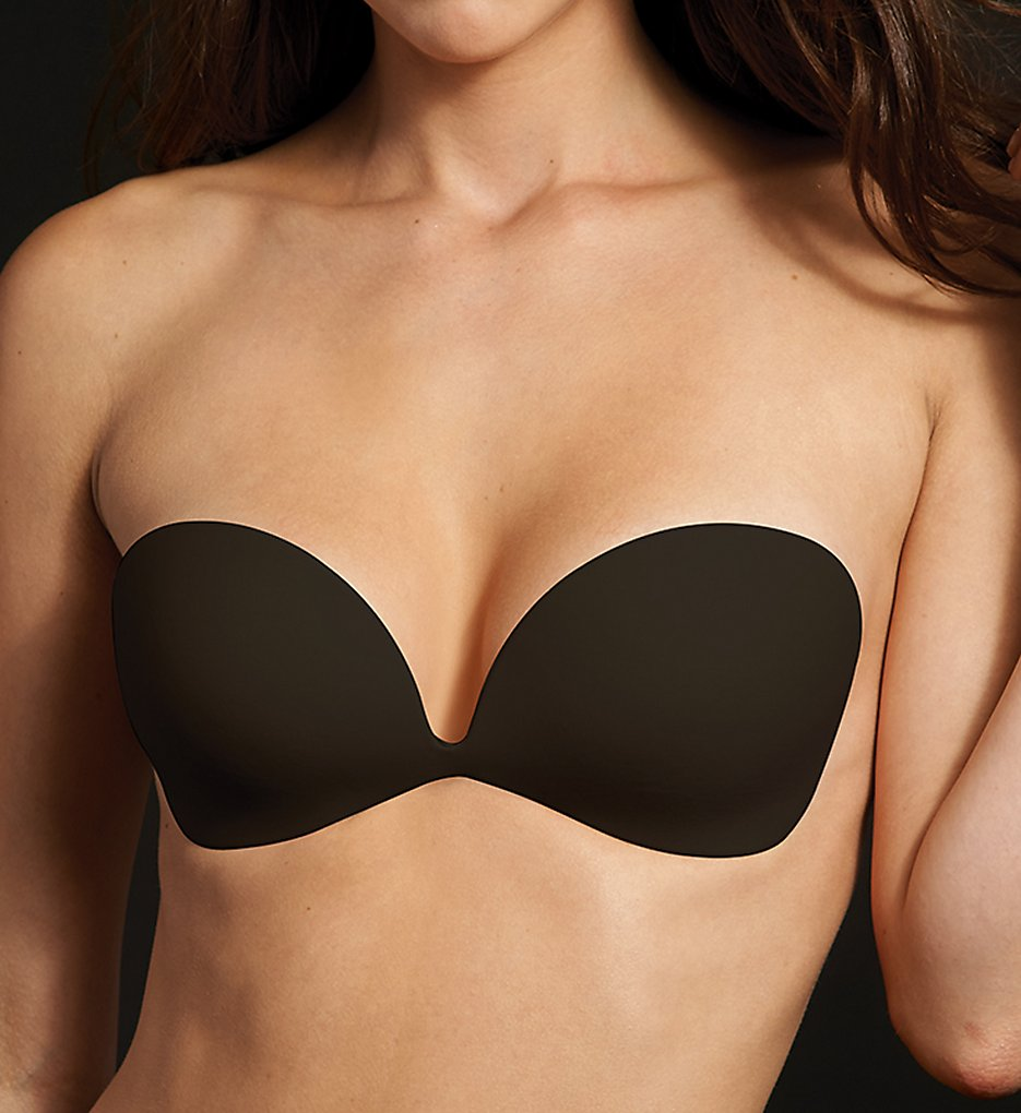 Maidenform Accessories - Maidenform Accessories M2289 Invisible Adhesive Bra (Black A)