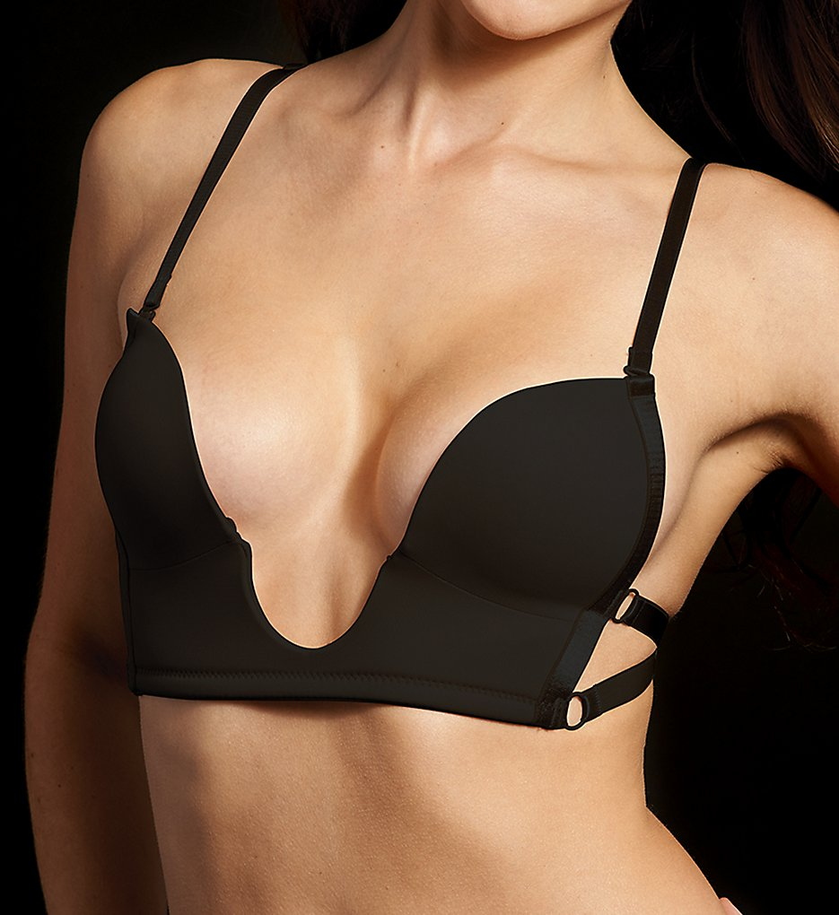 Maidenform Accessories >> Maidenform Accessories M2303 Sexy Plunge Bra (Black 2)