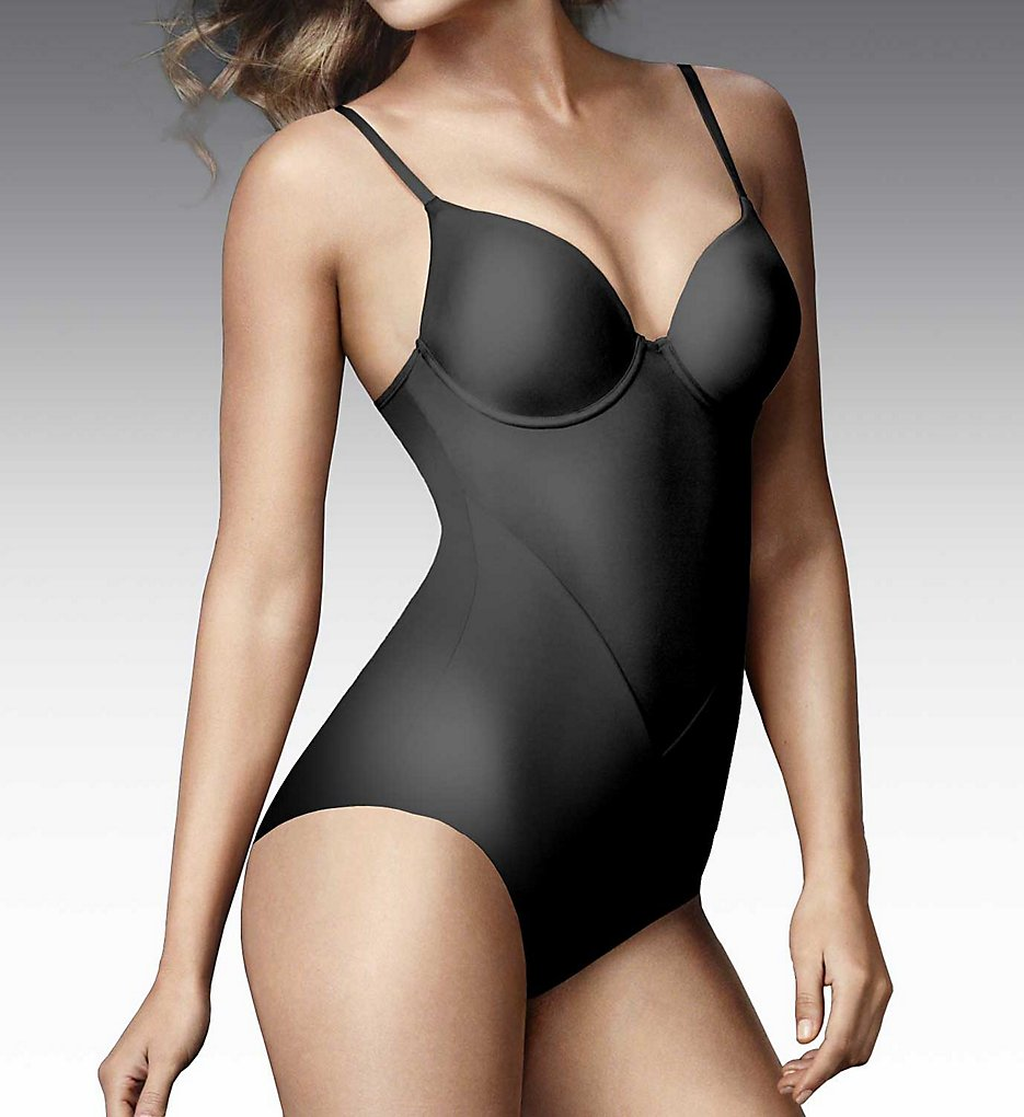 Maidenform - Maidenform 1056 Comfort Devotion Extra Coverage Bodybriefer (Black 34C)