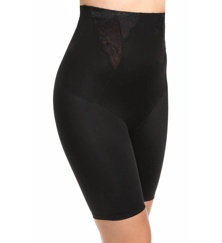 Maidenform Vintage Chic High Waisted Thigh Slimmer with Lace