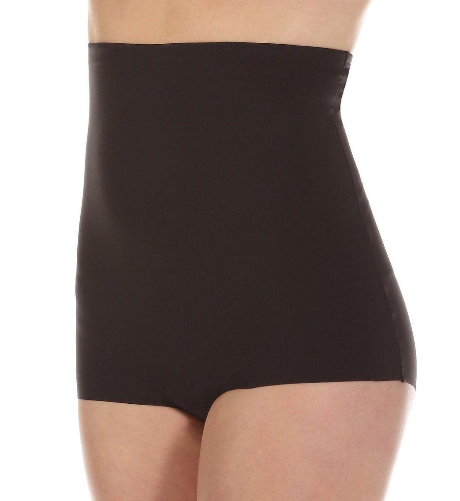 Maidenform - Maidenform 2059 Invisible Power Hi Waist Boyshort (Black 2X)